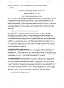 MOU RRC with YMCA page 1 of 3