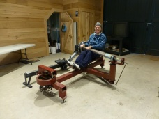 Bill on old rower