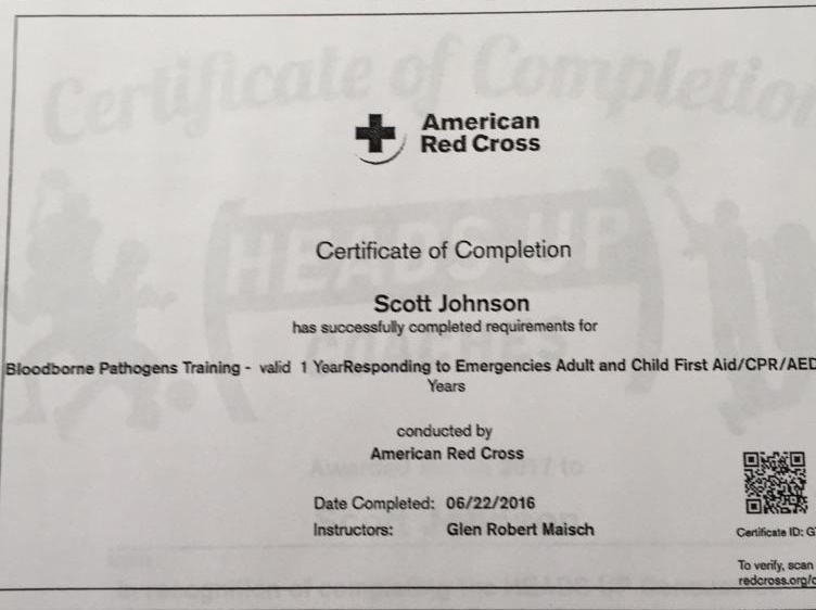 2 Scott First Aid Cpr Rondout Rowing Club