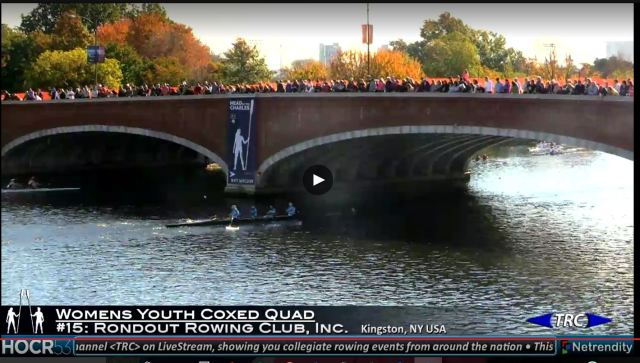 Womans Youth Coxed Quad Oct 22 2017